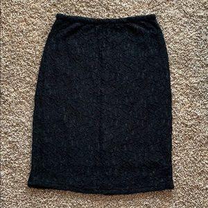 Aritzia Babaton Lace Skirt
